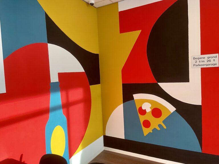 Murals voor Xior Studenthousing